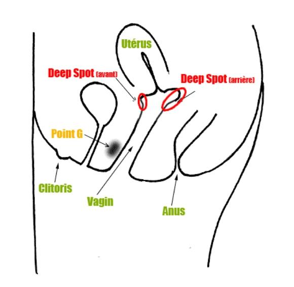 Deep spot vagina
